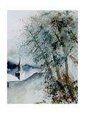 Watercolor 140605 Poster por  Ledent
