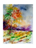 Watercolor 100507 Giclee Print by Ledent