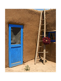 Real Adobe, Taos Pueblo, New Mexico Photographic Print by George Oze