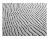 Sand Patterns in the Desert 1 Photographic Print by Donna Corless