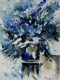 Watercolor Blue Bunch Pôsters por  Ledent