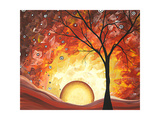 Frozen Fire Giclee Print by Megan Aroon Duncanson