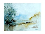 Watercolor 240405 Giclee Print by  Ledent
