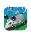 Super Possum Photographic Print by Lyudmila Lavrentyeva
