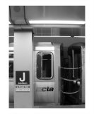 CTA Train Photographic Print by Jason Wolf