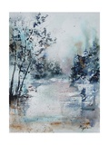 Watercolor 251203 Giclee Print by  Ledent