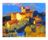 A Tuscan Sunrise Giclee Print by Daniel Berkeland