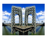 Mind Bending Bridge Giclee Print by New Yorkled
