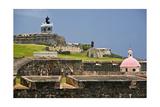 El Morros Defense, Old San Juan, Puerto Rico Photographic Print by George Oze