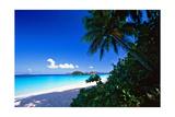 Caribbean Beach, Saint John, USVI Photographic Print by George Oze