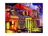 Late Night New Orleans Giclee Print by Diane Millsap