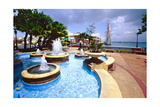 Harbor View, Old San Juan, Puerto Rico Photographic Print by George Oze
