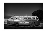 Bus 1 BW Photographic Print by John Gusky
