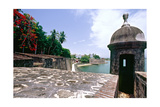 Walls of Old San Juan, Puerto Rico Photographic Print by George Oze