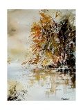 Watercolor 210505 Giclee Print by Ledent