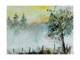 Watercolor Mist Arte por  Ledent