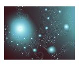 Blue Cosmos Fotografie-Druck von Vicky Brago-Mitchell