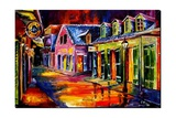 Toulouse Street by Night Giclee Print by Diane Millsap