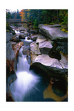Cascading Falls on the Ammonoosuc River Photographic Print by George Oze