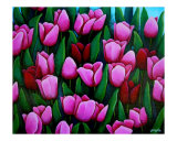 Bridgets Tulips Giclee Print by Gayle Faucette Wisbon