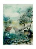 Watercolor Monceau Pôsters por  Ledent