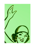 Girl In Green Photographic Print by John Gusky