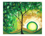Barren Green Giclee Print by Megan Aroon Duncanson