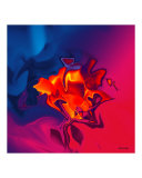 Red Rose Photographic Print by Christian Simonian