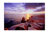 Glowing Rocks of Cabo Rojo, Puerto Rico Photographic Print by George Oze