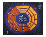 Feng Shui Dharma Bagua Giclee Print by Thomas Hannsz