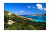 Villas with a View, St John, US Virgin Islands Impressão fotográfica por George Oze