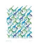 cool giraffe pattern Photographie par  Avalisa