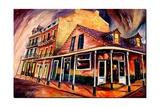 Bourbon Street Strut Giclee Print by Diane Millsap