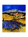 Provence 1225 Giclee Print by  Ledent
