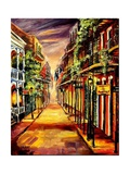French Quarter Twilight Giclee Print by Diane Millsap