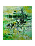 Abstract 5 Giclee Print by  Ledent