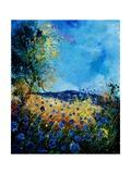 Blue Cornflowers 4505072 Arte por  Ledent