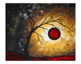 Red Moon Giclee Print by Megan Aroon Duncanson