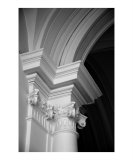 Columns at Hermitage Photographic Print by Donna Corless