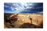 Ominous Sky, Canyon De Chelly, Arizona Photographic Print by George Oze