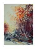 Watercolor 100107 Pôsters por  Ledent