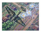 Heinkel 111 bomber Giclee Print by jack connelly