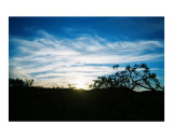 Blue Texas Sky Fotodruck von A Villaronga