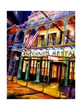 Antoines Restaurant in the French Quarter Giclee Print by Diane Millsap
