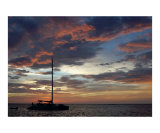 Sunset Sail Photographic Print by Kimberely Ener