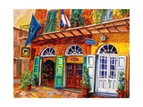 Pirates Alley in the French Quarter Giclee Print by Diane Millsap