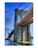 The Mighty Brooklyn Bridge Giclee Print by New Yorkled