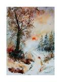 Watercolor 121212 Arte por  Ledent