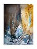 Watercolor 181205 Pôsters por  Ledent
