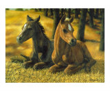 Best Friends Giclee Print by Crista Forest